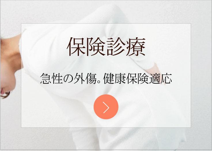 保険診療(整骨・スポーツ外傷・交通事故)